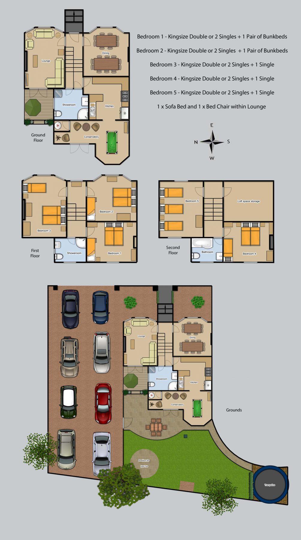Floor plan for Stoke Villas