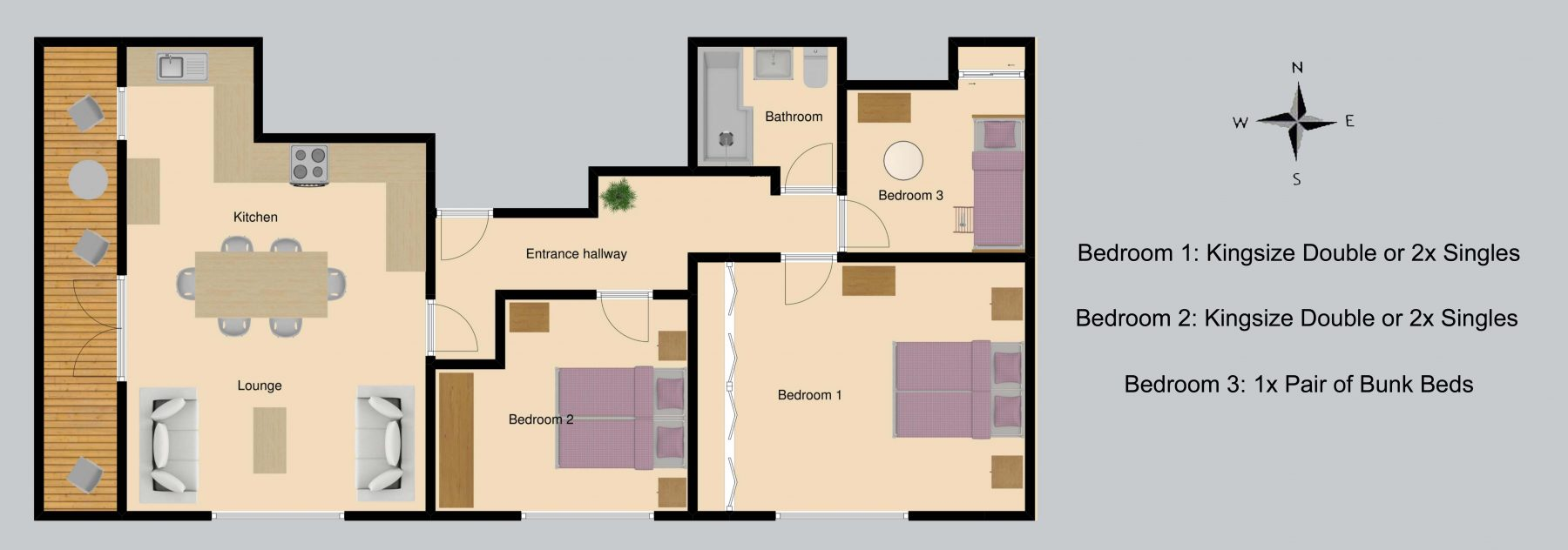 Floor plan for Twenty One – A